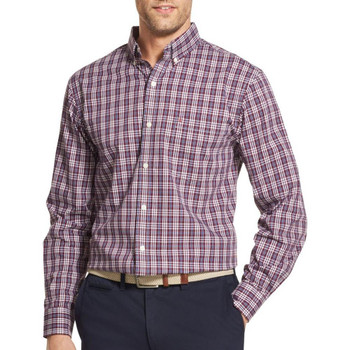 04cc610544 IZOD Men s Long Sleeve Solid Woven Button Down Shirt~4582146 - Younkers