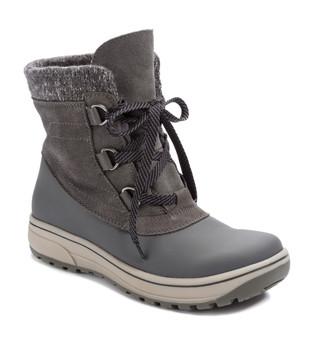 Baretraps Devon Cold-Weather Lace-Up Bootie~Grey BT25603 5d91eeca94f7