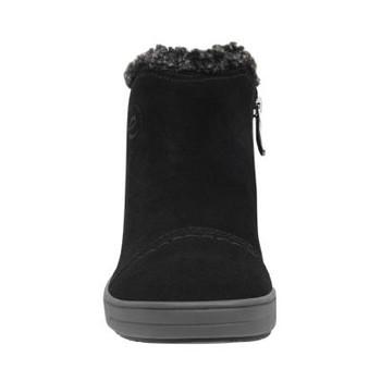 68247e995ee Easy Spirit Women s North Casuals Booties~BLACK BLACK+GREY6 E-NORTH8