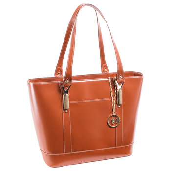 7841fccfbb63 McKlein ARYA Ladies  Leather Tote with Tablet Pocket~9771