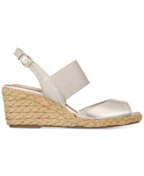 b92cd77f667 Bandolino Womens Himeka Peep Toe Casual Espadrille Sandals~pp-285c8919