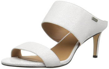 a18e6c78b75 Create New Wish List · Calvin Klein Womens Cecily Leather Open Toe ...
