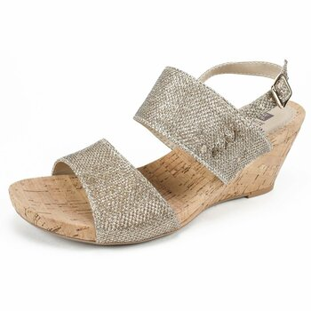 6c126f7267a White Mountain Womens Alexus Fabric Open Toe Casual Platform Sandals