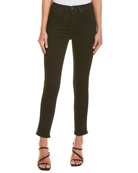 496abe52795cca HUDSON Jeans Holly Black Luxe High-Rise Crop Skinny~1411227189