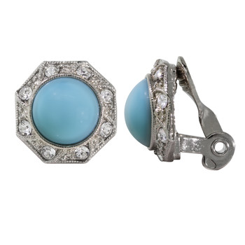 Rings New Fabulous Chunky Blue Turquoise Ring With Stretch Adjustable Strap.