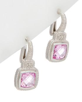 16e354768 Judith Ripka La Petite Silver 5.01 ct. tw. White Topaz CZ Earrings