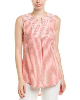 ac092e23dd beachlunchlounge Linen-Blend Shirt~1411342170