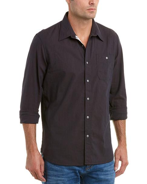JACHS Action Pleat Classic Fit Woven Shirt~1010747183