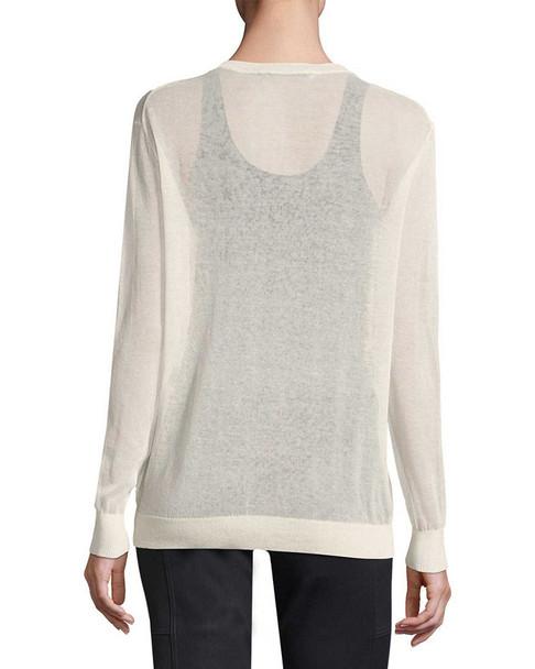 Halston Heritage V-Neck Sweater~1050796859