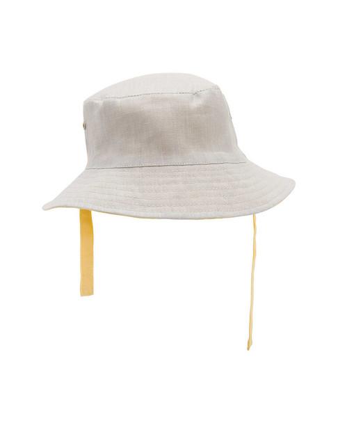 Elegant Baby Linen-Blend Hat~1111698013