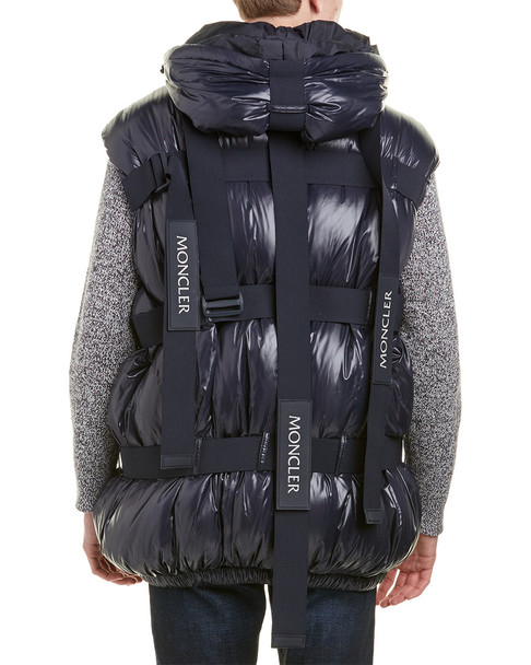 Moncler x Craig Green Buckle Strap Quilted Down Vest~1211178738