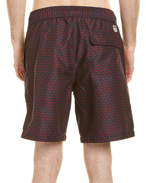 Surfside Supply Co. 3D Checker Volleyball Short~1220640669