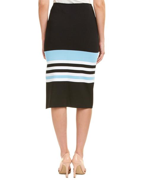 NICHOLAS Ribbed Knit Midi Skirt~1411076716