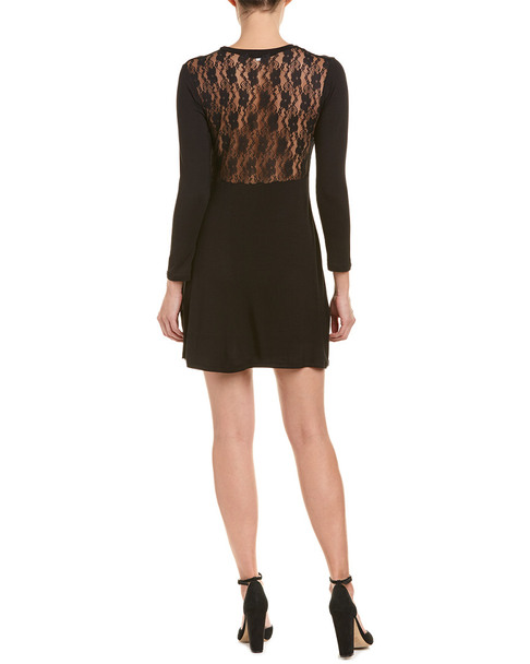 Caleigh & Clover Lace Back Shift Dress~1411198138