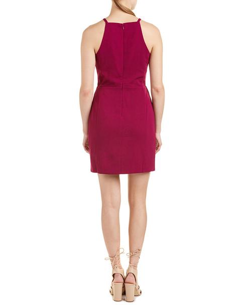 Greylin Crocheted-Trim Sheath Dress~1411217582