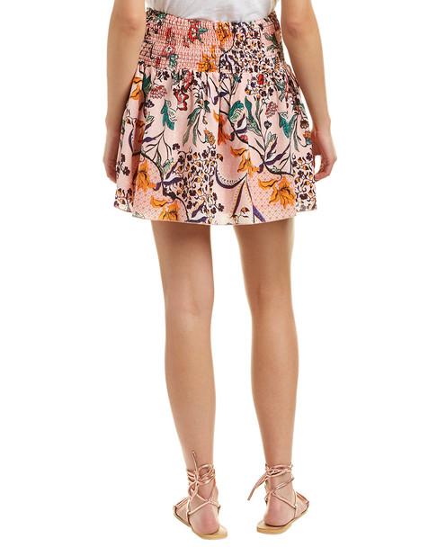 Allison New York Smocked Mini Skirt~1411234201