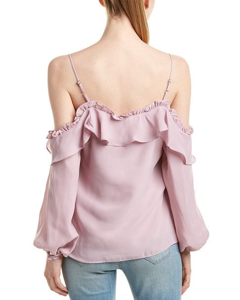 Parker Cold-Shoulder Top~1411243912