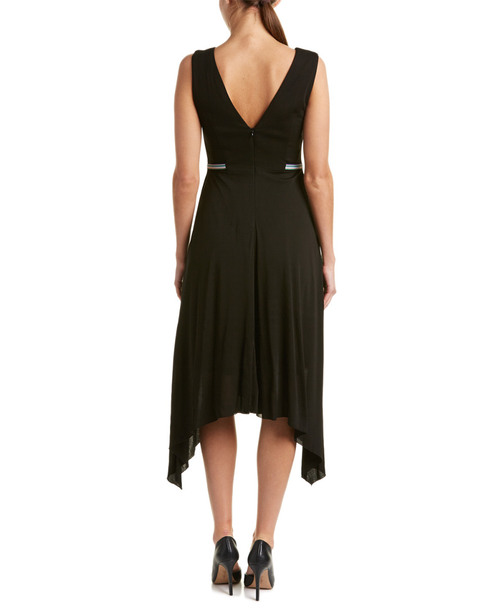 Karen Millen Handkerchief Hem Midi Dress~1411249446