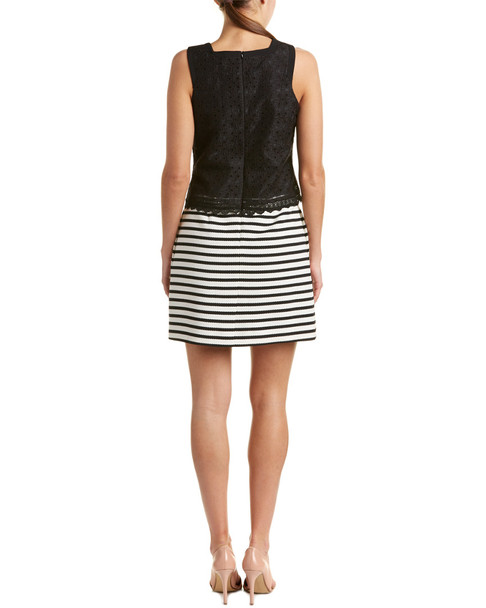 Karen Millen Lace Bodice A-Line Dress~1411249465