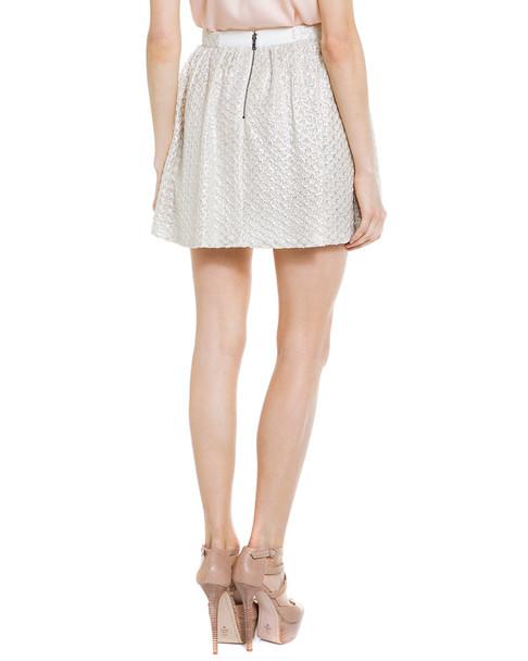 alice + olivia Marla Textured Skirt~1411262928