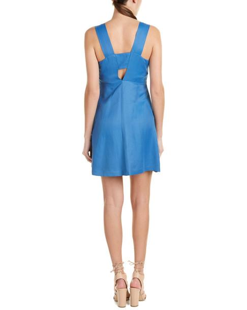 Sandro Runy Linen-Blend A-Line Dress~1411300807