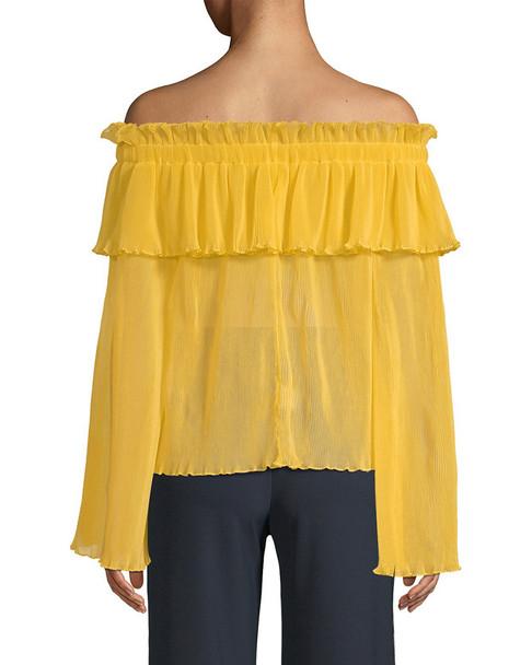 Alice McCall Pina Colada Off-the-Shoulder Top~1411306217
