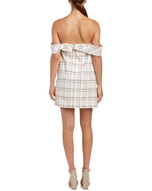Isla Plaid Party Mini Dress~1411352248