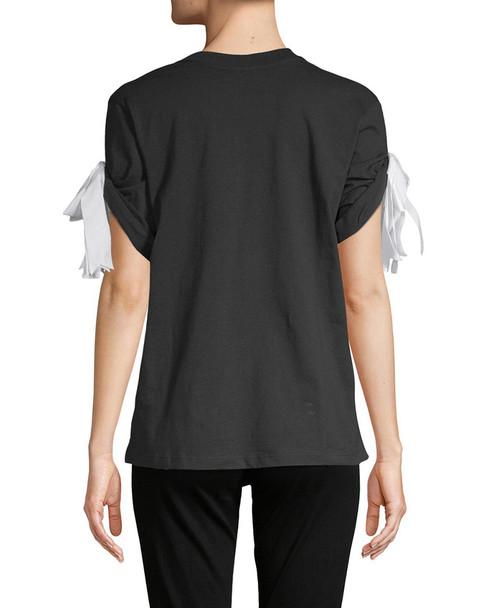 Manoush Rolled Cuff T-Shirt~1411370746