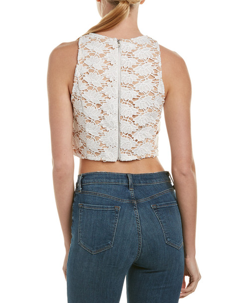 Endless Rose Lace Crop Top~1411373479