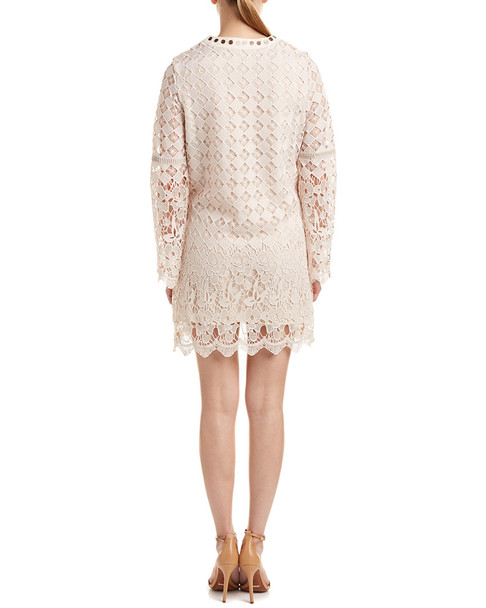 Allison New York Lace Shift Dress~1411374727