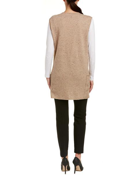 Sara Campbell Wool-Blend Vest~1411379721