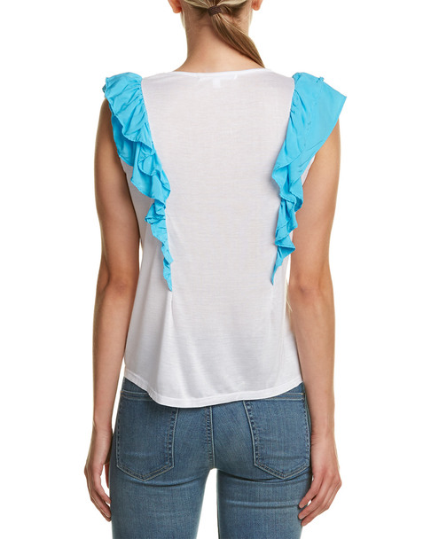 C&C California Apollonia Ruffle T-Shirt~1411393655