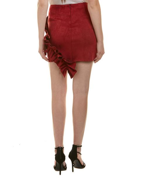 Aiden Ruffle Mini Skirt~1411396560