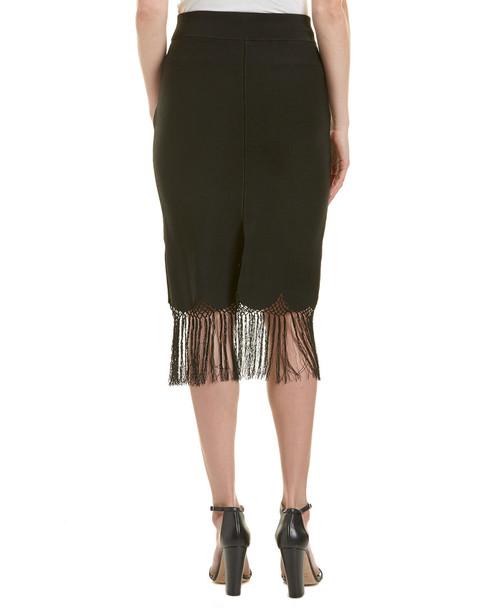 A.L.C. Rose Fringe Midi Skirt~1411402000