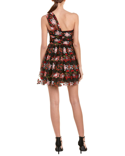 BCBGeneration Embroidered A-Line Dress~1411403421