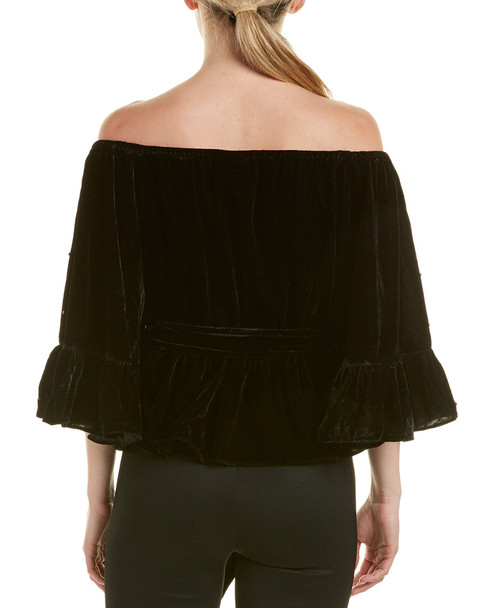 C/MEO COLLECTIVE Allure Pearl Off-The-Shoulder Top~1411407211