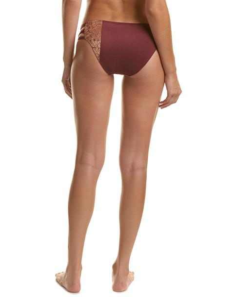 Carmen Marc Valvo Strappy Bikini Bottom~1411409649