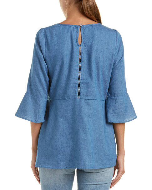 Lucca Couture Peplum Tunic~1411420048