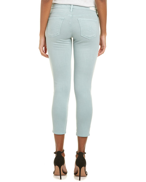 AG Jeans The Stilt Sulfur Pale Blue Cigarette Crop~1411427947