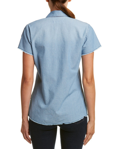 Etienne Marcel Chambray Top~1411428973