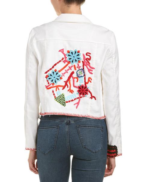 Ramy Brook Davis Linen-Blend Jacket~1411474229