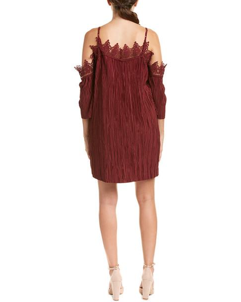 DO+BE Cold-Shoulder Shift Dress~1411475880