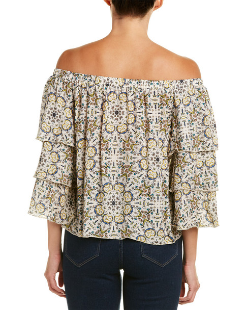Ella Moss Ruffled Sleeve Top~1411489788