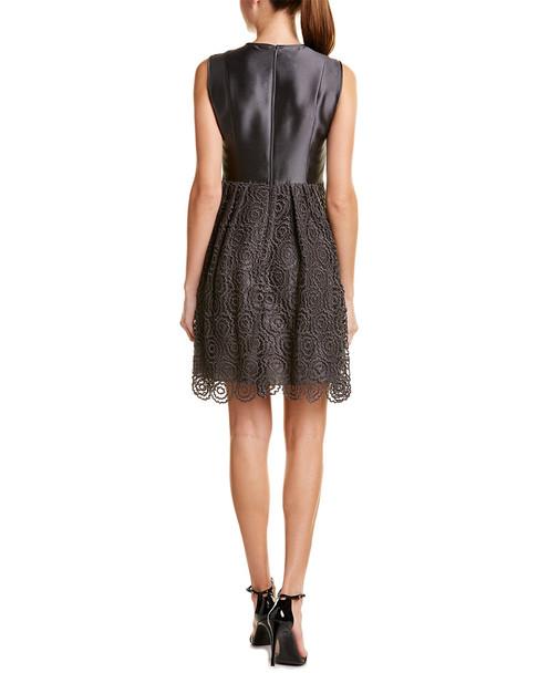 Armani Collezioni Silk-Blend Sheath Dress~1411499959