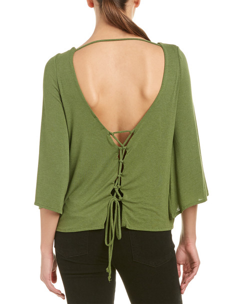 Anama Lace-Up Back Top~1411533149