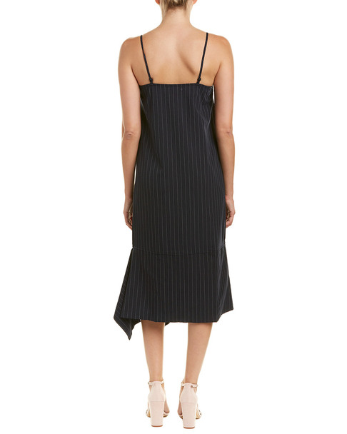 GREY LAB Pinstripe Midi Dress~1411560292