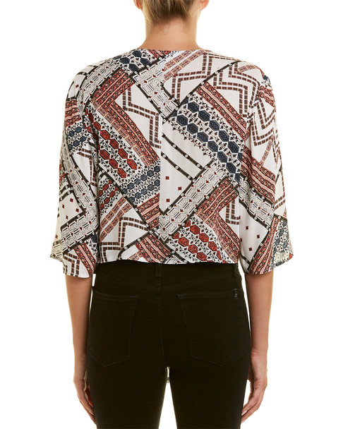 BCBGeneration Tie-Front Top~1411570722