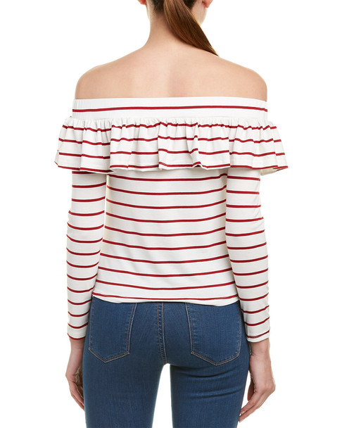 Madisonne Off-The-Shoulder Top~1411618343
