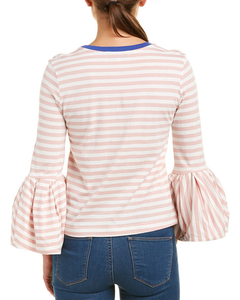 English Factory Bell-Sleeve Top~1411624354