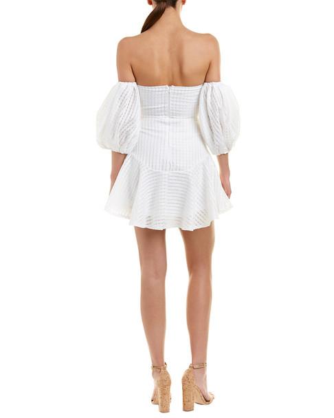 Haute Rogue Off-The-Shoulder A-Line Dress~1411645303